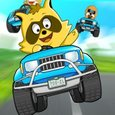 Raccoon Racing Game